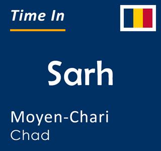 Current time in Sarh, Moyen-Chari, Chad