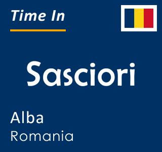 Current time in Sasciori, Alba, Romania
