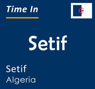 Current time in Setif, Setif, Algeria