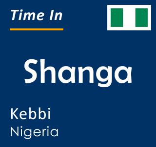 Current time in Shanga, Kebbi, Nigeria