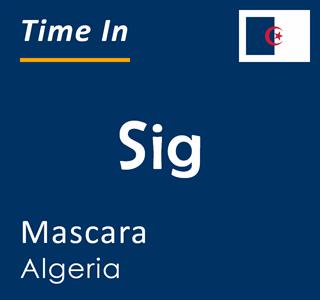 Current time in Sig, Mascara, Algeria