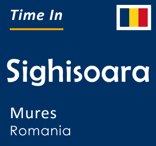 Current time in Sighisoara, Mures, Romania