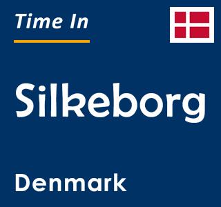 Current time in Silkeborg, Denmark