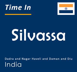 Current time in Silvassa, Dadra and Nagar Haveli and Daman and Diu, India
