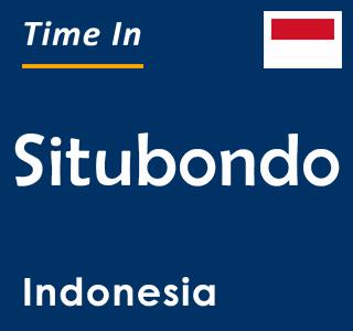 Current time in Situbondo, Indonesia