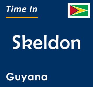 Current time in Skeldon, Guyana
