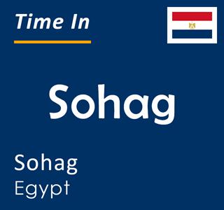 Current time in Sohag, Sohag, Egypt
