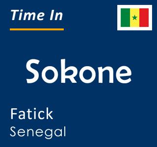 Current time in Sokone, Fatick, Senegal