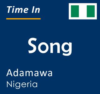 Current time in Song, Adamawa, Nigeria
