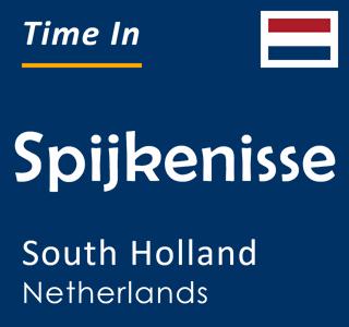 Current time in Spijkenisse, South Holland, Netherlands