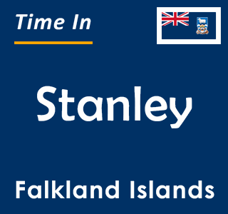 Current time in Stanley, Falkland Islands