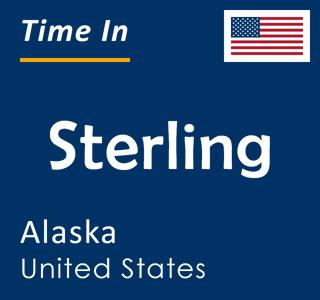 Current time in Sterling, Alaska, United States