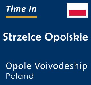 Current time in Strzelce Opolskie, Opole Voivodeship, Poland