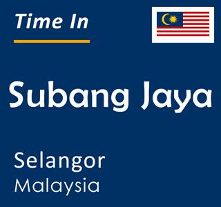 Current time in Subang Jaya, Selangor, Malaysia