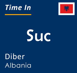Current time in Suc, Diber, Albania