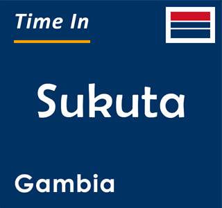 Current time in Sukuta, Gambia