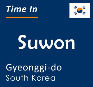 Current time in Suwon, Gyeonggi-do, South Korea