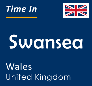Current time in Swansea, Wales, United Kingdom