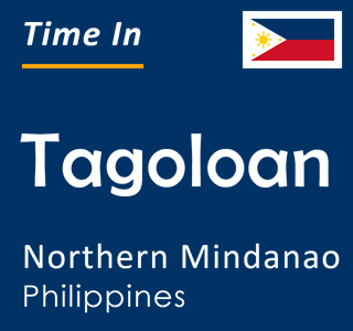 Current time in Tagoloan, Northern Mindanao, Philippines
