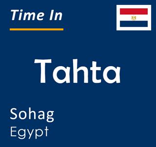 Current time in Tahta, Sohag, Egypt