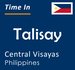 Current time in Talisay, Central Visayas, Philippines