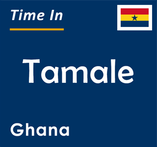 Current time in Tamale, Ghana