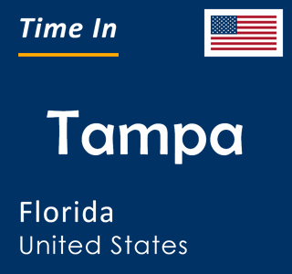 Current time in Tampa, Florida, United States