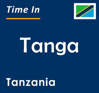 Current time in Tanga, Tanzania