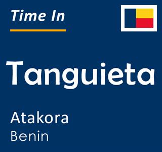 Current time in Tanguieta, Atakora, Benin