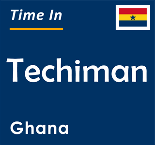 Current time in Techiman, Ghana