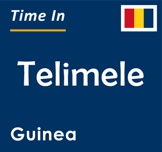 Current time in Telimele, Guinea