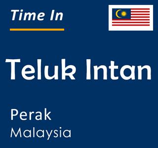 Current time in Teluk Intan, Perak, Malaysia