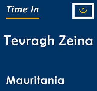 Current time in Tevragh Zeina, Mauritania