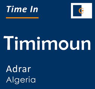 Current time in Timimoun, Adrar, Algeria