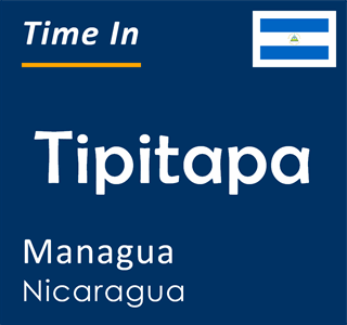 Current time in Tipitapa, Managua, Nicaragua