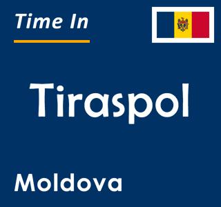 Current time in Tiraspol, Moldova