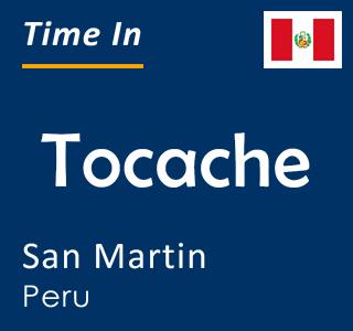 Current time in Tocache, San Martin, Peru