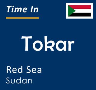 Current time in Tokar, Red Sea, Sudan