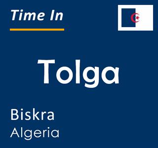 Current time in Tolga, Biskra, Algeria