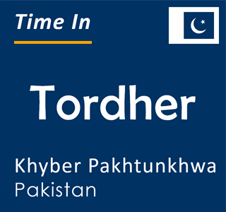 Current time in Tordher, Khyber Pakhtunkhwa, Pakistan