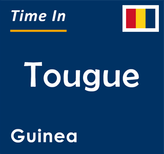 Current time in Tougue, Guinea