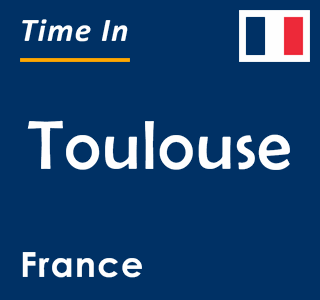 Current time in Toulouse, France