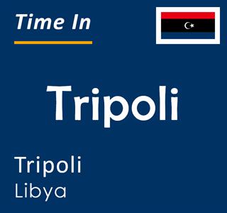 Current time in Tripoli, Tripoli, Libya