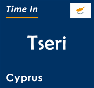 Current time in Tseri, Cyprus