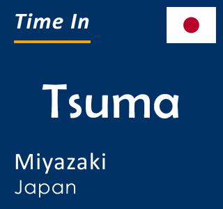 Current time in Tsuma, Miyazaki, Japan