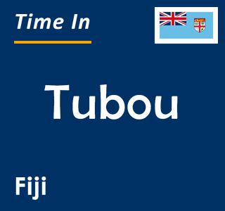 Current time in Tubou, Fiji