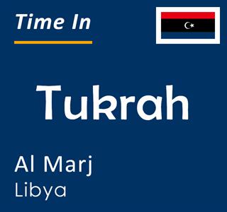 Current time in Tukrah, Al Marj, Libya