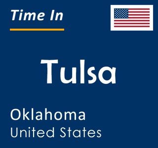 Current time in Tulsa, Oklahoma, United States