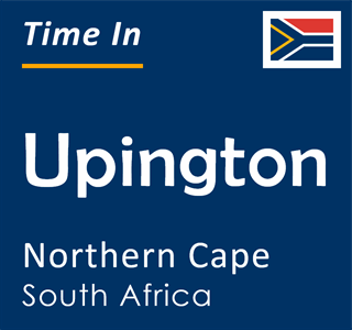 Current time in Upington, Northern Cape, South Africa