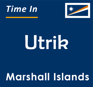 Current time in Utrik, Marshall Islands